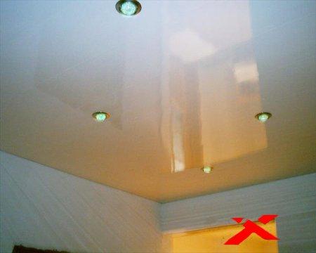 Пластиковый потолок своими руками фото