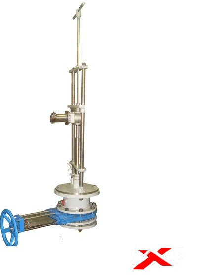 Устройство для врезки в трубопровод УВГ-100