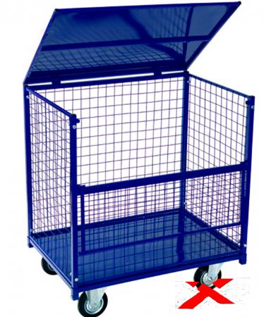 Сфера применения сетчатых контейнеров