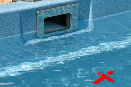 Закладные элементы бассейна