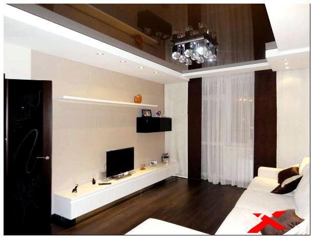 Дизайн квартир в бежево-коричневом цвете