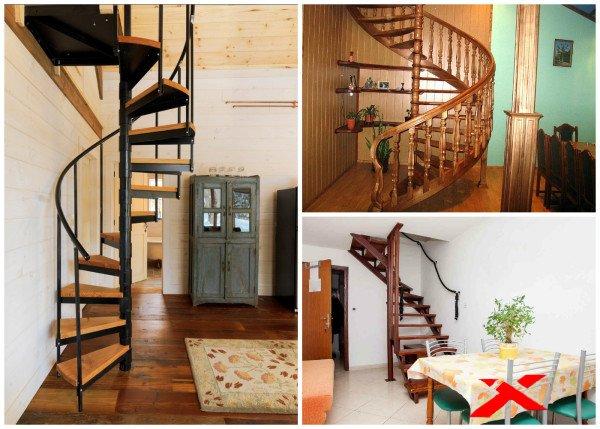 Лестница на мансарду в небольшом доме своими руками