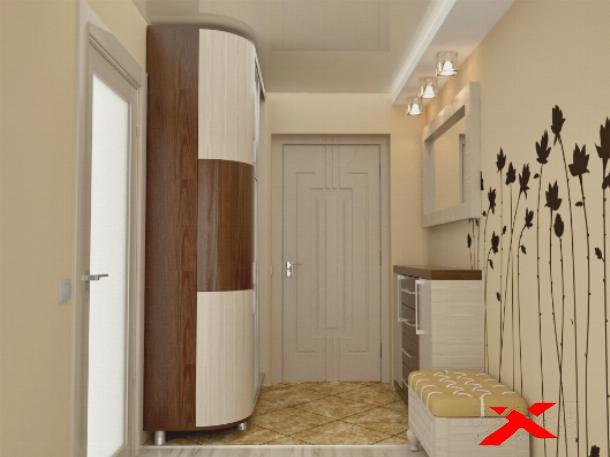 Дизайн маленького коридора в квартире реальные в панельном доме