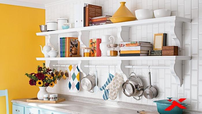 Полки на кухне своими руками фото 95