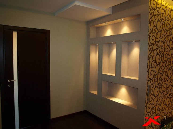 Дизайн ниши в коридоре