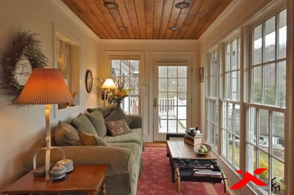 Ремонт террасы в частном доме фото