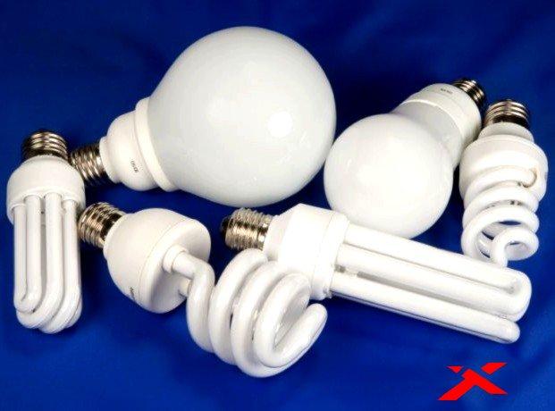 Современные электрические лампы
