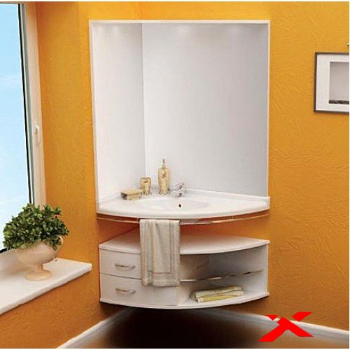 Угловая мебель для ванных