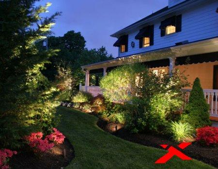 Садовое и ландшафтное освещение