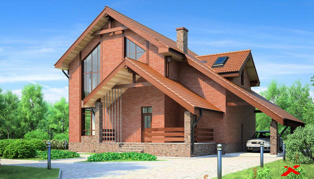 Частный дом из кирпича