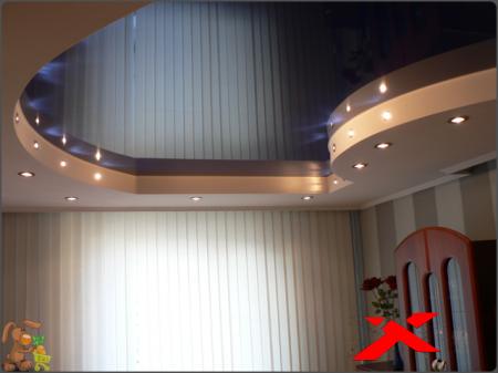 Натяжной потолок и его преимущества