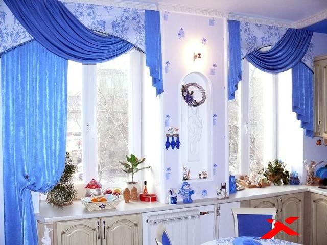 По каким критериям выбрать шторы на кухню
