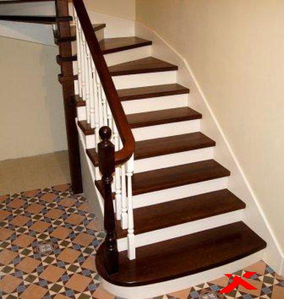 Производство лестниц из разных материалов