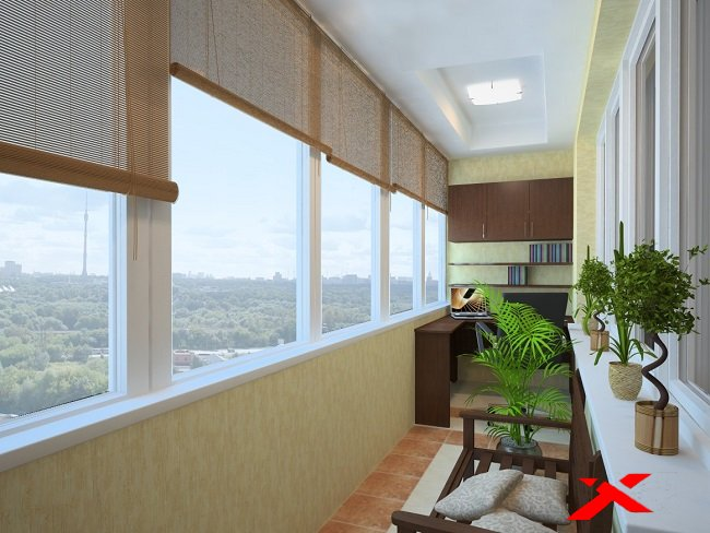 Особенности ремонта балкона «под ключ»