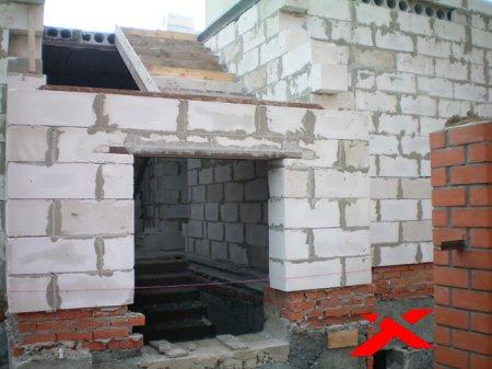 Возведение домов из пеноблоков