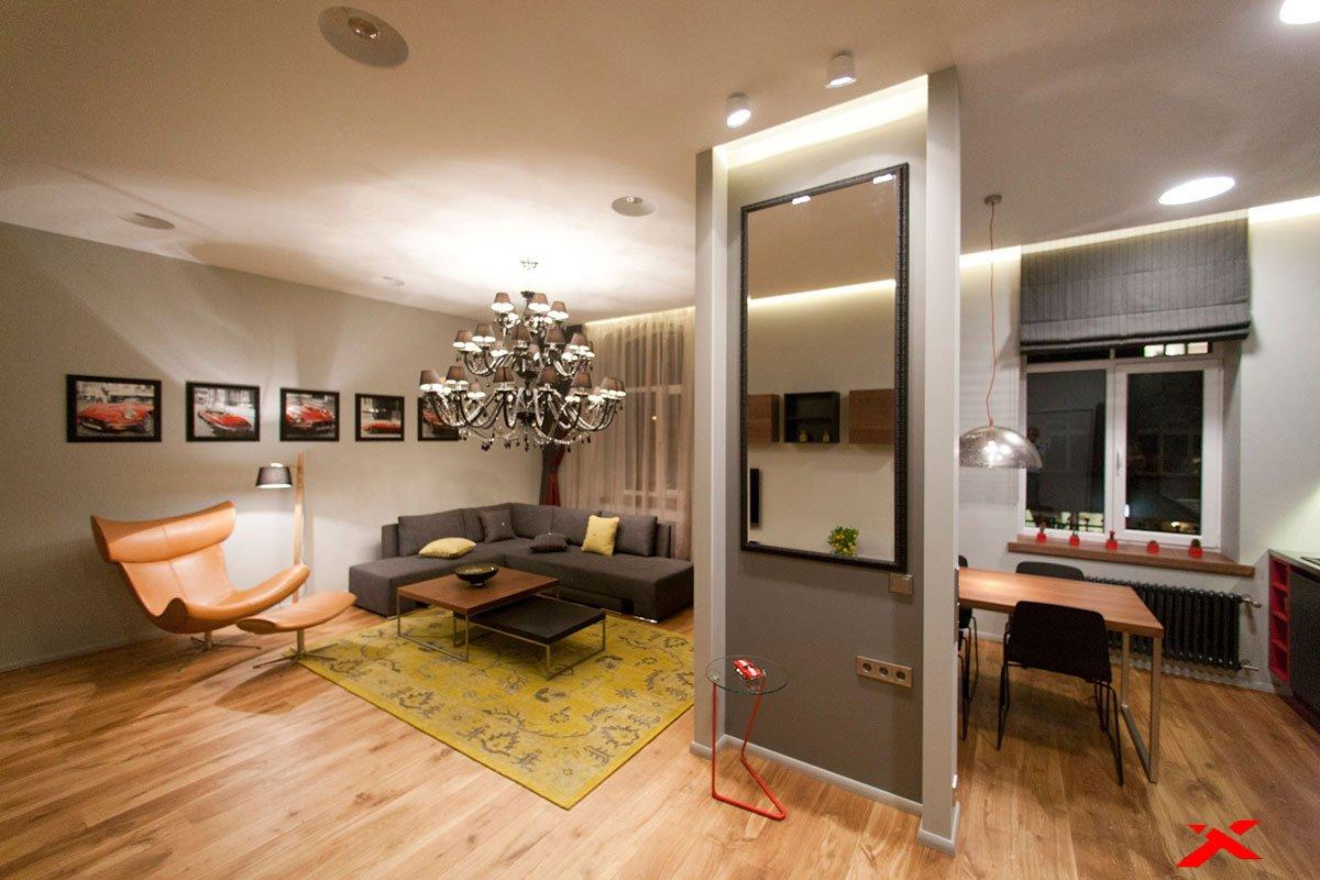 Как самому разработать интерьер квартиры-студии