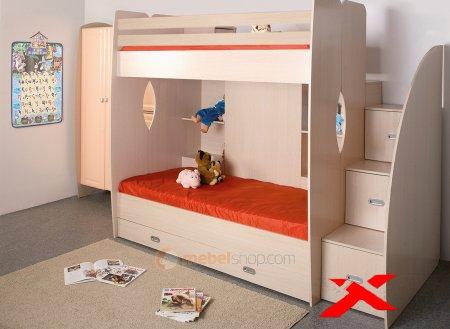 Двухъярусные кровати в Минске: научите детей общаться