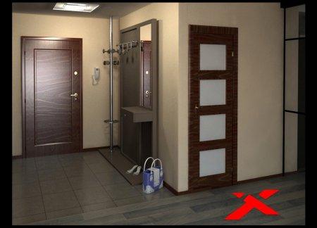 Входная дверь в дом для родителей