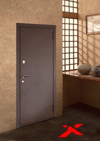 Полимерное покрытие металлических дверей