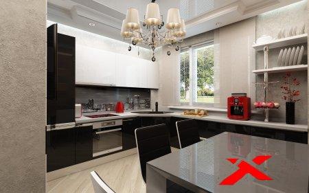 Практичные угловые кухни