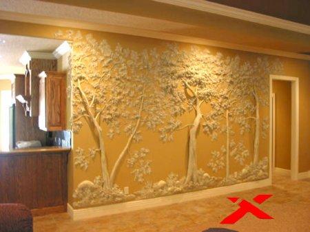 Художественная роспись или объемный декор - как сделать дом уютным?