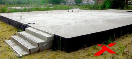 Плитный фундамент от «Монолиттренд»