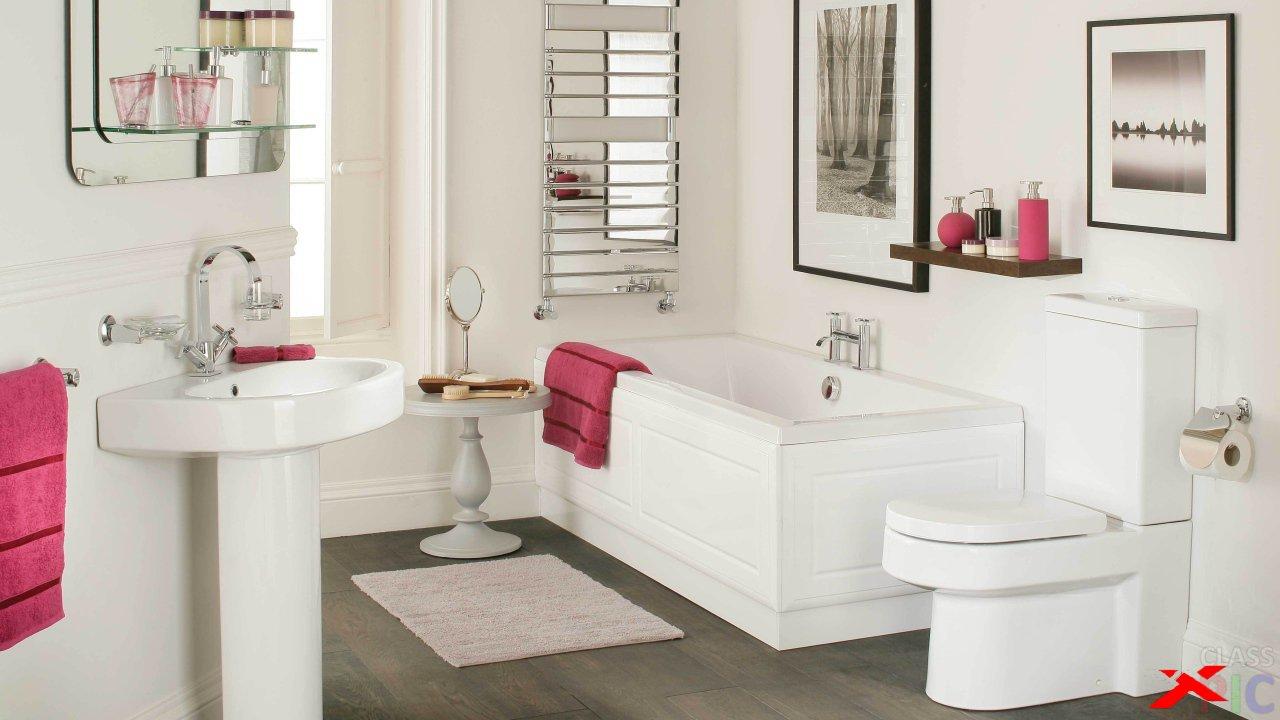 Лаконичный минимализм в обустройстве ванной комнаты