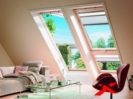 Мансардные окна и их особенности
