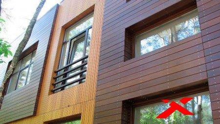 Современные виды внешней отделки зданий