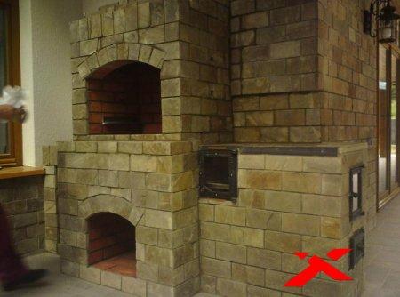 Строим печь-каменку