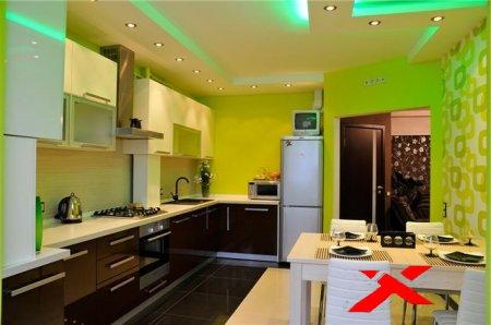 Про освещение на кухне