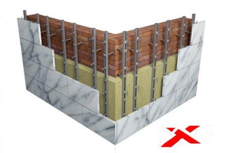 Фасадная система МАС для вентилируемых фасадов