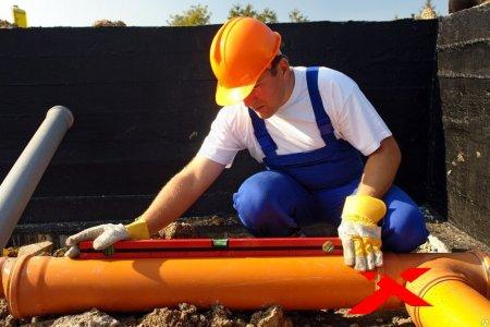 Работы по водоснабжению и канализации и строительный контроль за ними