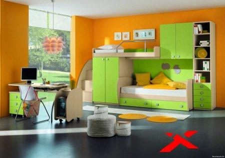 Из каких деталей должен состоять интерьер детских комнат?