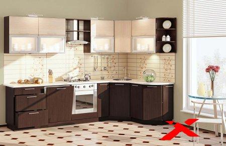 Кухонная мебель корпус и столешница