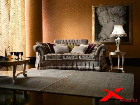 Мягкая мебель Tiffany от фабрики Paolo Lucchetta