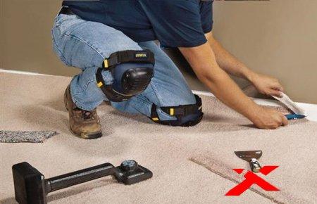 Замена коврового покрытия