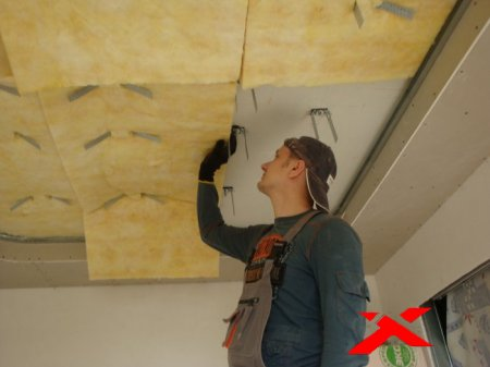 Звуковая изоляция потолка квартиры