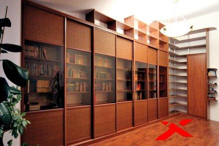 Библиотеки мебель, прихожие купе