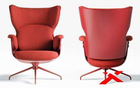Французский дизайнер выпустила коллекцию кресел