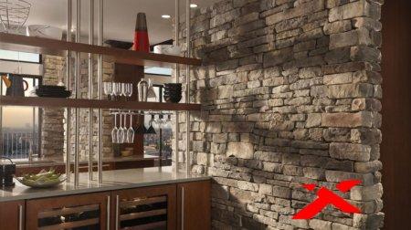 Преимущества декоративного камня для интерьера