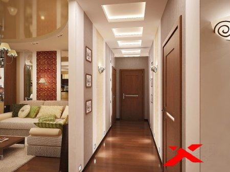 Оформление прихожей в квартире: фото