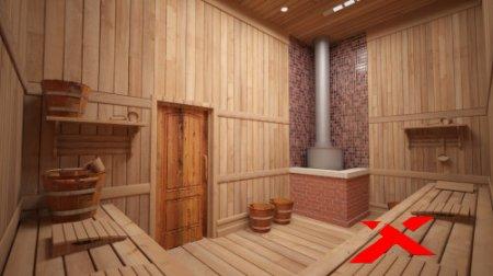 Баня внутри и снаружи: реальные фото