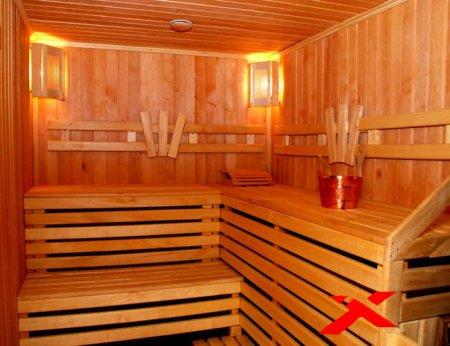Внутреннее обустройство бани