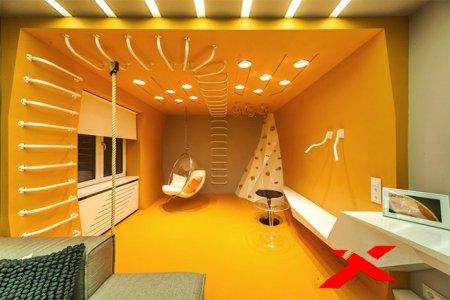 Точечная подсветка потолка