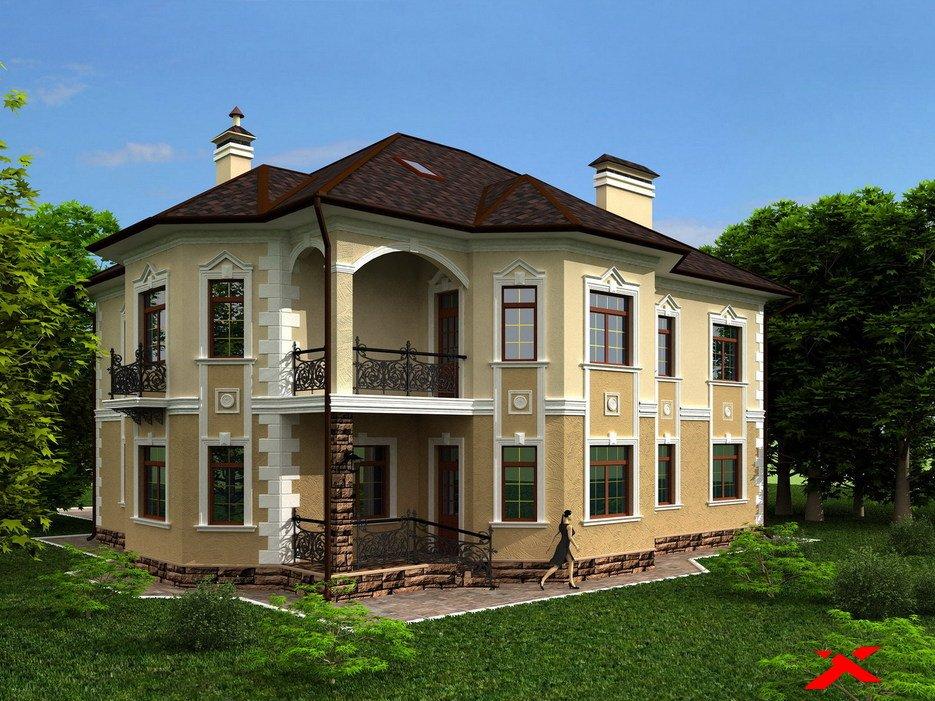 Фото дома в классическом стиле