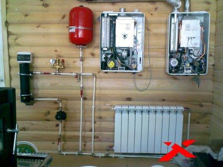 Отопление дачи или загородного дома
