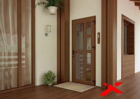Входные и межкомнатные двери из пластика
