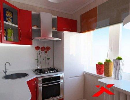 Дизайн кухни 6 м и 5 м