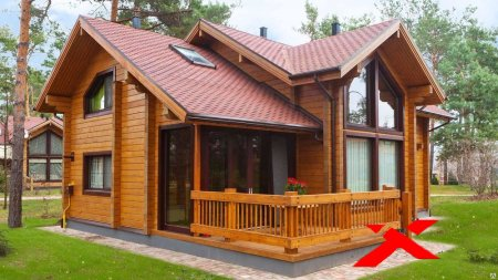Дачные домики: обычный каркасник или дом из клееного бруса?